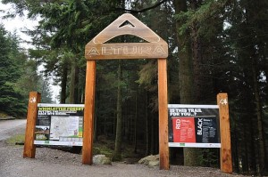 Custom Whinlatter Lake Sign